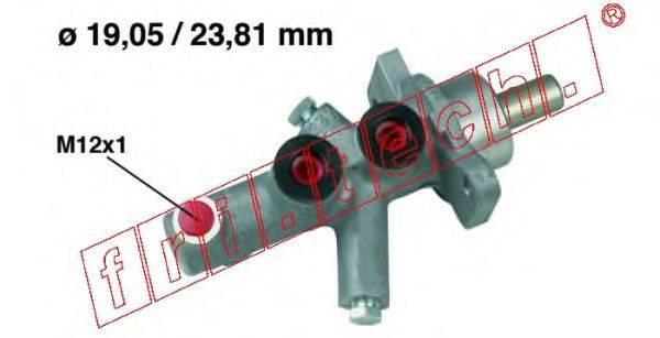 FRI.TECH. PF633 Главный тормозной цилиндр