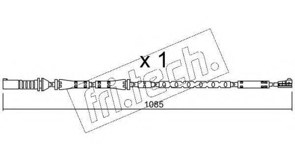 FRI.TECH. SU284 Сигнализатор, износ тормозных колодок