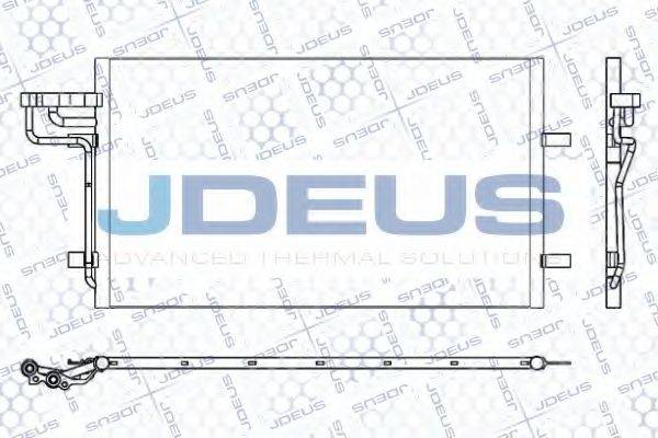 JDEUS 712M25 Конденсатор, кондиционер