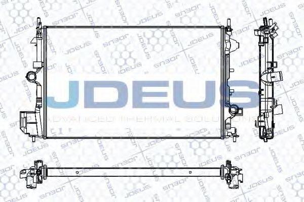 Радиатор, охлаждение двигателя JDEUS RA0200890