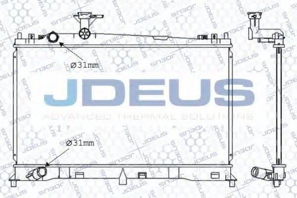 Радиатор, охлаждение двигателя JDEUS 016M37