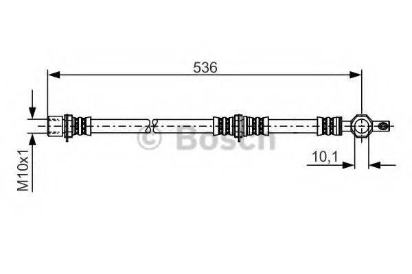 BOSCH 1987481221 Тормозной шланг