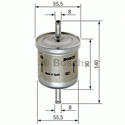 BOSCH 0450905280 Топливный фильтр