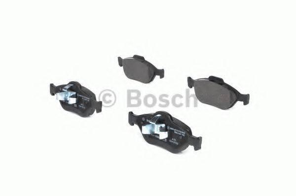 BOSCH 0986424558 Комплект тормозных колодок, дисковый тормоз
