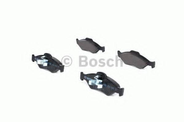 BOSCH 0986424645 Комплект тормозных колодок, дисковый тормоз