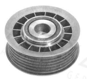 AUTEX 641680 Паразитный / ведущий ролик, поликлиновой ремень