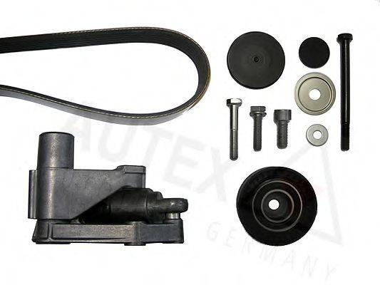 AUTEX 702657 Поликлиновой ременный комплект