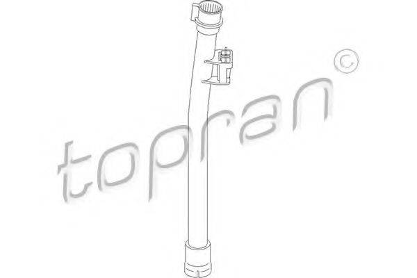 TOPRAN 109324 Воронка, указатель уровня масла