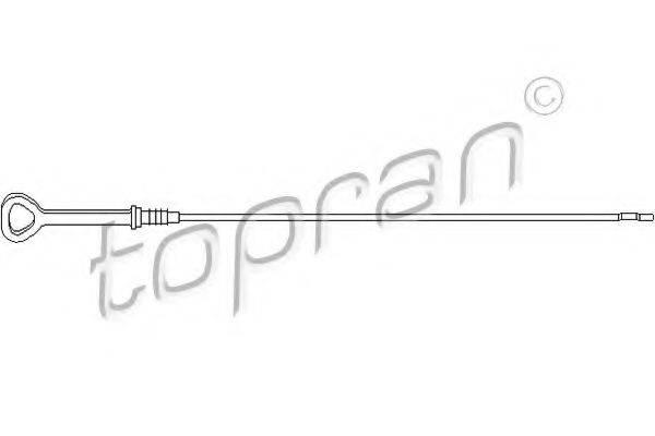 TOPRAN 109386 Указатель уровня масла
