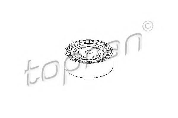 TOPRAN 500259 Паразитный / ведущий ролик, поликлиновой ремень