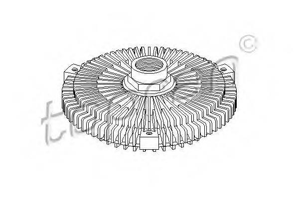 TOPRAN 500862 Сцепление, вентилятор радиатора