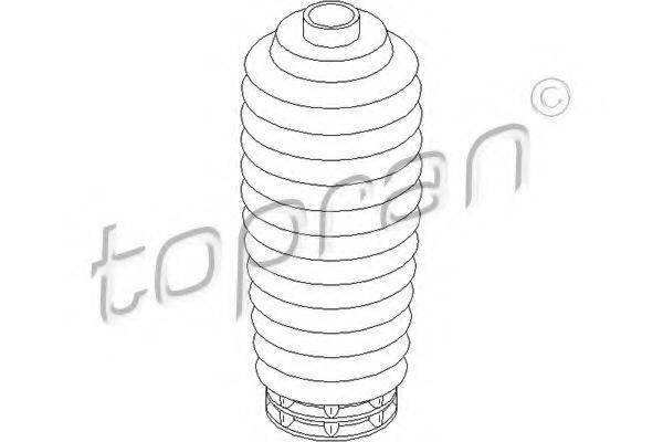 TOPRAN 302211 Защитный колпак / пыльник, амортизатор