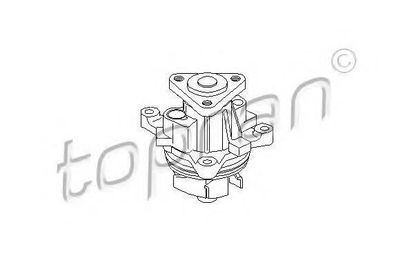 TOPRAN 302221 Водяной насос