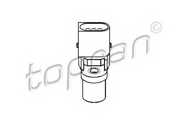 TOPRAN 500987 Датчик частоты вращения, управление двигателем