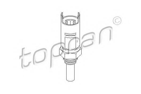 TOPRAN 500522 Датчик, температура охлаждающей жидкости