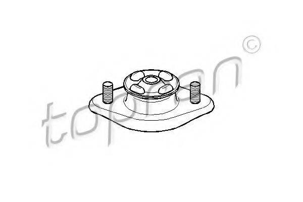 TOPRAN 500052 Опора стойки амортизатора