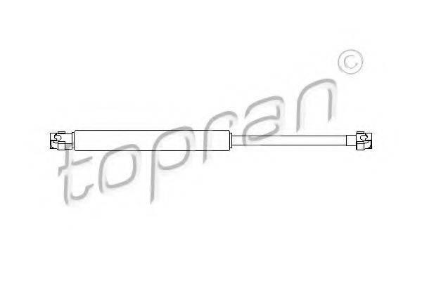 TOPRAN 500415 Газовая пружина, крышка багажник