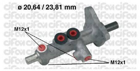 CIFAM 202627 Главный тормозной цилиндр