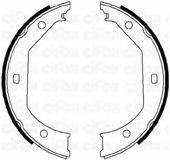 CIFAM 153017 Комплект тормозных колодок, стояночная тормозная система