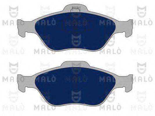 MALO 1050133 Комплект тормозных колодок, дисковый тормоз