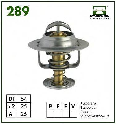 MTE-THOMSON 28986 Термостат, охлаждающая жидкость