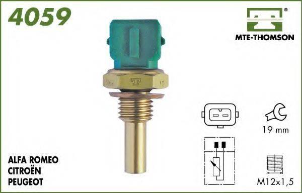 MTE-THOMSON 4059 Датчик, температура охлаждающей жидкости