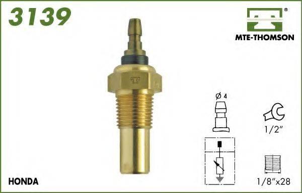 MTE-THOMSON 3139 Датчик, температура охлаждающей жидкости