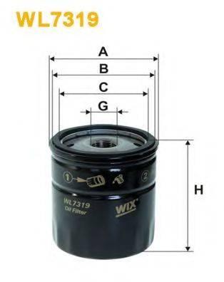 WIX FILTERS WL7319 Масляный фильтр