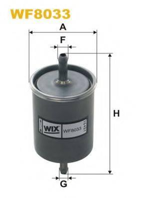 WIX FILTERS WF8033 Топливный фильтр