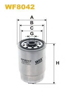 WIX FILTERS WF8042 Топливный фильтр