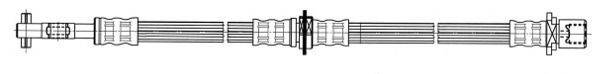 CEF 512587 Тормозной шланг