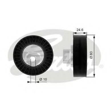 GATES T38069 Паразитный / ведущий ролик, поликлиновой ремень