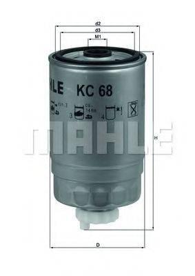 KNECHT KC68 Топливный фильтр