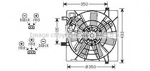 PRASCO SB7501 Вентилятор, охлаждение двигателя