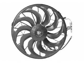 VAN WEZEL 0640752 Вентилятор, конденсатор кондиционера