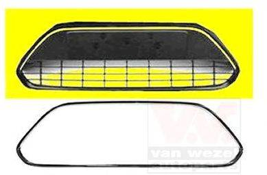 VAN WEZEL 1866590 Решетка вентилятора, буфер