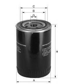 UNIFLUX FILTERS XO256 Масляный фильтр
