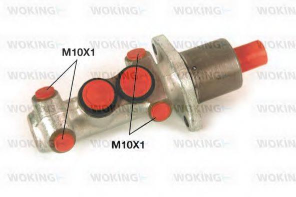 WOKING C101924 Главный тормозной цилиндр