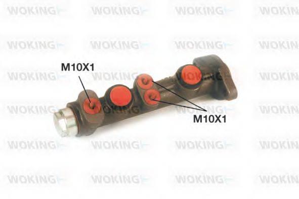 WOKING C102000 Главный тормозной цилиндр