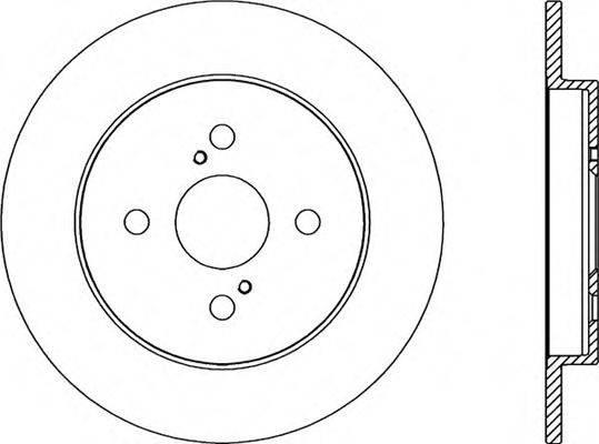 OPEN PARTS BDR229310 Тормозной диск