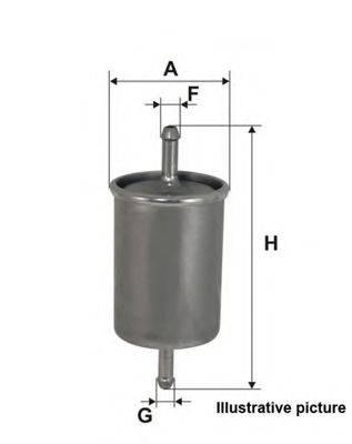 OPEN PARTS EFF502320 Топливный фильтр