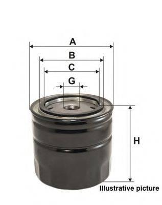 OPEN PARTS EOF401620 Масляный фильтр