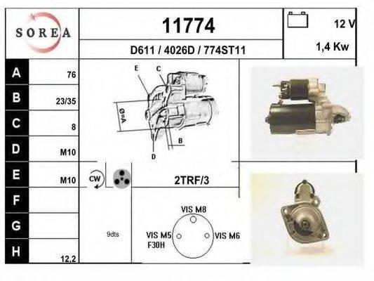 EAI 11774 Стартер