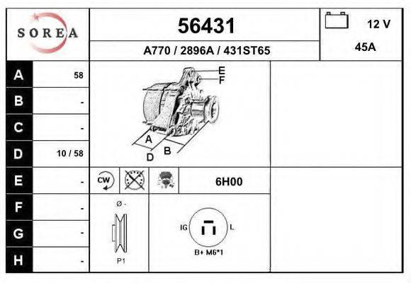 EAI 56431 Генератор