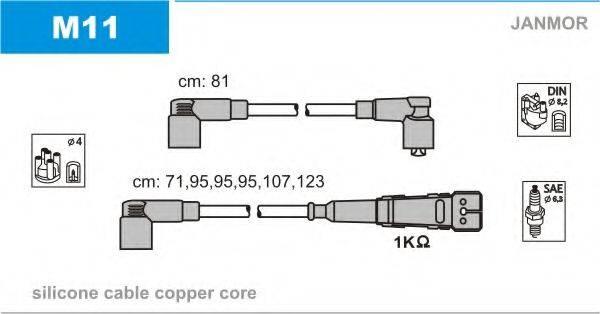 Комплект проводов зажигания JANMOR M11