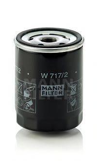 MANN-FILTER W7172 Масляный фильтр