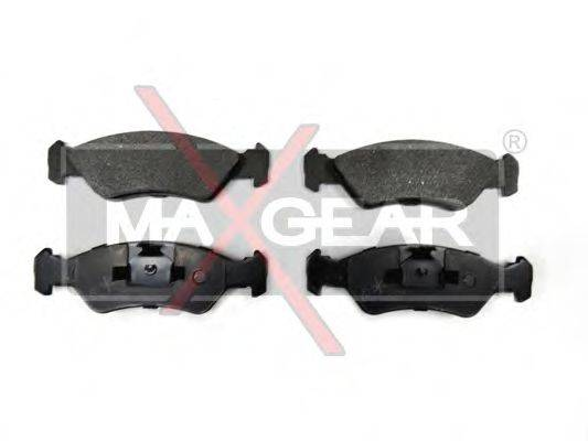 MAXGEAR 190595 Комплект тормозных колодок, дисковый тормоз