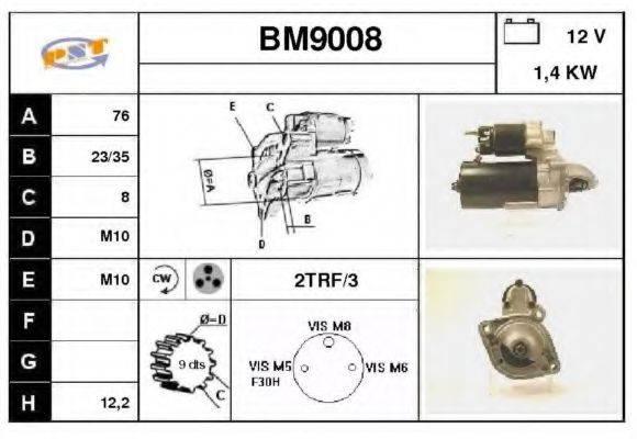 SNRA BM9008 Стартер