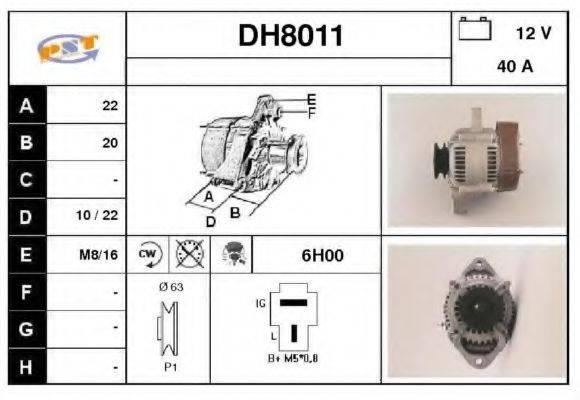 SNRA DH8011 Генератор