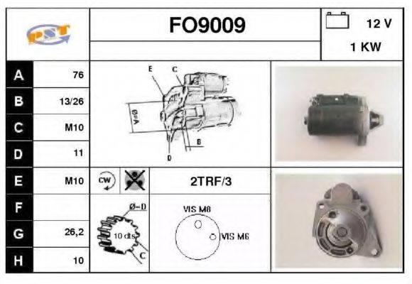 SNRA FO9009 Стартер